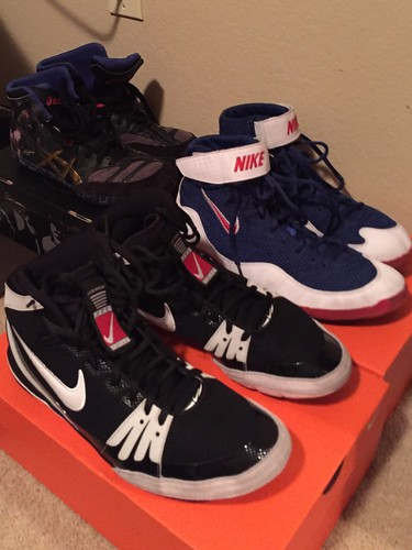 Wrestling Shoes: All 10.5: ASICS Legend Aggressors, Nike Inflict 3, Nike  Freeks