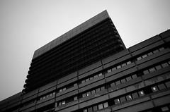overcast tower (gfiedler) Tags: vienna wien bw akh austria sterreich 28mm overcast linux gr ricoh ricohgr grii ricohgrii darktable