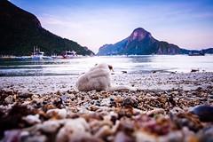 Morning walk at the shore of El Nido, Palawan. (hijo_de_ponggol) Tags: morning walk shore el nido palawan