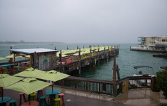 Sunset Pier, Key West in the Mist