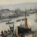 PISSARRO Camille,1896 - Port de Rouen, St-Sever (Orsay) - Detail 33