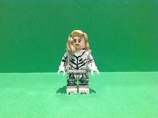 Custom Lego White Canary