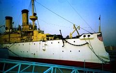 USS_Olympia4 (Baker Pics and Whatnot) Tags: ussolympia philadelphia 1994 uss olympia battleship ship
