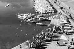 2016 12 28 - Napoli - (105) - Lungomare (Giovanni.Ciliberti) Tags: napoli mare lungomare mercato pesce barche via caracciolo dallalto nalbero