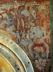 Tuscania - Santa Maria Maggiore 2 (anto_gal) Tags: lazio viterbo tuscania 2015 chiesa romanico santamariamaggiore affresco giudiziouniversale