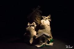 Composizione natalizia (Fabio Cevrero) Tags: noel christmas composition natale tree feltro home marchè mercatino natalizio nikon d3200 light darkness oscurità luce lampada portrait subjet subject soggetto