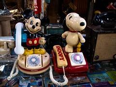 IMGP6287 Japan Takayama 60's Museum (Dave Curtis) Tags: 2013 japan kx march pentax takayama mickey mouse snoopy telephone 60s museum