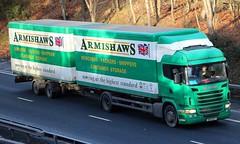 SCANIA G320 - ARMISHAWS Removals Wincanton Somerset (scotrailm 63A) Tags: lorries trucks removals