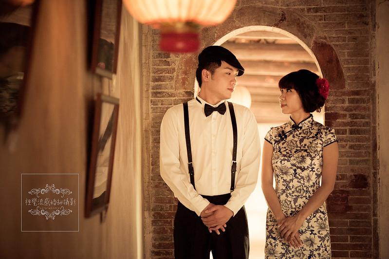 板橋,林家花園,婚紗攝影,推薦,紅禮服,復古,中國風