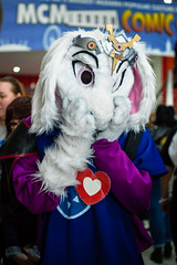 DSC_0263 (Gavin Clinton) Tags: london mcm expo comic con comiccon convention may 2016 undertale asriel dreemurr cosplay fursuit furry
