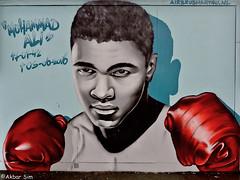 Amersfoort Graffiti (Akbar Sim) Tags: amersfoort holland nederland netherlands graffiti muhammadali akbarsim akbarsimonse