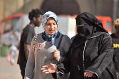 Niqab et foulard - Niqab and headscarf (Olivier Simard Photographie) Tags: niqab foulard maroc placeelhédime meknès villeimpériale femme djellaba soleil place mknas moulayismail berbère scénederue médina elhédim islam musulmane tradition religion voile salafisme photoderue hijab muslimwomen femmemusulmane scarf morocco meknes imperialcity wife sun square berber streetscene medina elhedim muslim veil salafism streetphoto muslimwoman