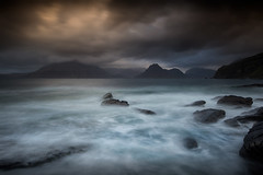 Elgol waves (Mike Prince Landscapes) Tags: nature landscape coast skye scotland elgol longexposure moody story sea