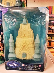 Frozen arandelle Easter chocolate castle
