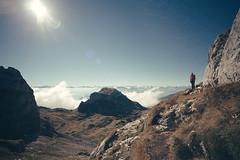 Top of the World (chris-tik) Tags: sky brandenberg alps amoncellement montaña rofan achensee peña nuage mont zillertal österreich monte montagne nube mountain austria rocks clouds sun travel mountains