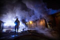 lmh-grefsenveien006 (oslobrannogredning) Tags: bygningsbrann brann røykdykker røykdykkere