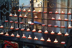 St. David's Cathedral (@AnnerleyJphotos) Tags: alight britain candelabra candle candles cathedral cymru david frame gb lit memory pembrokeshire red rememberance rows saint sirbenfro stdavids tribute uk wales welsh