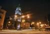 City winter night. (TRS969) Tags: tokinaatx1224 canon40d winter snow night oldcity lviv ukraine hdr