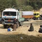 Auf dem Weg nach Punakha, Bhutan