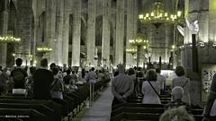 1930  Santa Maria del Mar, Barcelona (Ricard Gabarrús) Tags: barcelona catedral iglesia olympus convento monasterio ermita claustro capilla santamariadelmar ricgaba ricardgabarrus