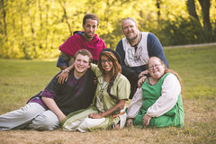 Family (jennamillerphoto) Tags: family sca pennsic garb