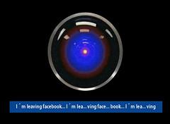 I´M LEAVING FACEBOOK (Laisgar) Tags: 2001 friends red amigos net web internet virtual psicologia facebook hal9000 redessociales nuevastecnologias socialnet adiccion mymindisgoing loestoydejando enredossociales nuevasadicciones