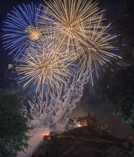 Fesitval Fireworks, Edinburgh