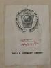 Bookplate/Label: University of Pennsylvania (Provenance Online Project) Tags: englandlondon universityofpennsylvania 1633 pennlibraries bookplatelabel pr3545m9a671633 marmionshackerley16031639