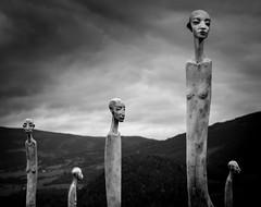 (Svein Skjåk Nordrum) Tags: blackandwhite bw sculpture white black noir explore installation nero explored flokk sørfron gittedæhlin