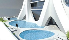 Жилой небоскреб One Thousand Museum от Zaha Hadid Architects в Майами