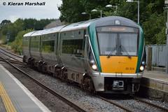 22023 arrives at Portlaoise, 4/9/15 (hurricanemk1c) Tags: irish train rail railway trains railways irishrail rok rotem portlaoise 2015 icr iarnród 22000 22023 éireann iarnródéireann 4pce 1525heustonlimerick