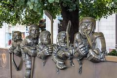 Hockey Hall of Fame Sculpture (Eridony) Tags: sculpture toronto ontario canada art downtown financialdistrict publicart