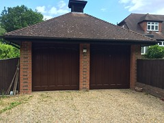 Pair of GRP Wessex doors in Crawley