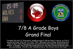 7-8 A Boys Grand Final 2015_ (1) (Chris J. Bartle) Tags: hockey boys club university stadium australia grand final perth western westside 78 wolves uwa agrade