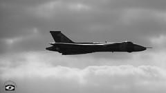 Vulcan XH558 'Spirit of Great Britain' (Tom O'Donovan) Tags: show sky memorial aircraft air jet camouflage farewell vulcan bomber raf avro xh558