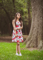 Sesion Pam (ApoloSolares) Tags: portrait solares photography woods foto bosque sesion apolo sesin