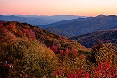 Nautical twilight at Webb Overlook (Timberography) Tags: autumn mountains fall nikon northcarolina nik hdr greatsmokeymountainnationalpark nauticaltwilight d700 webboverlook
