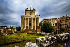 "Temple of Antoninus and Faustina • <a style=""font-size:0.8em;"" href=""http://www.flickr.com/photos/89679026@N00/21868783510/"" target=""_blank"">View on Flickr</a>"