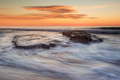Bungan Triangle (Mike Hankey.) Tags: seascape sunrise focus published north bungan midtide