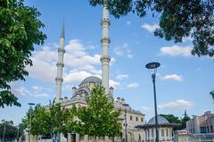 Konya - Haci Veys Zade Mosque 5 (Le Monde1) Tags: park lake turkey pond nikon islam mosque sultan turkish dervish anatolia moslem whirlingdervishes culturalpark kltr sinanpasha d7000 lemonde1 hasanpasha haciveyszade sultanahcaddesi fatmahtun