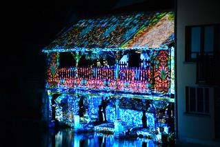Chartres en Lumières 2015 - Lavoir de la Grenouillère