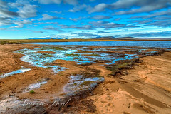 HDR Loch More (gbird521) Tags: pictures blue beach canon scotland landscapes highlands skies alba sandy scottish images more 7d loch hdr lochs moorland caithness strath morven