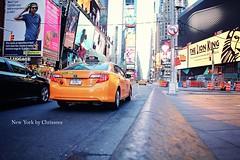 "Times Square (*Chris"")) Tags: street city nyc usa newyork wow us taxi timessquare"