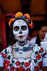 Mexico (andresinho72) Tags: df ciudad mexico ciudaddemexico mexicocity mexican messicano messico cittadelmessico folklore costumes tradizionali costumitradizionali traditionalcostumes tradition folclore traditionaldress diadelosmuertos diademuertos halloween 1denoviembre maquillaje