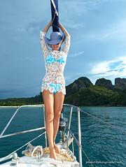 XOKA8685bs (forum.linvoyage.com) Tags: ocean sea woman sexy girl beautiful long slim dress yacht outdoor leg bikini mast             phuketian forumlinvoyagecom httpforumlinvoyagecom phuketphotographernet