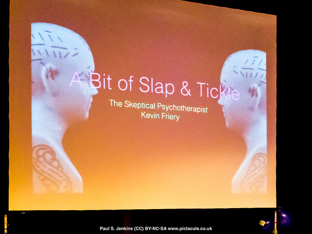 A Bit of Slap & Tickle — with Kevin Friery at Winchester Skeptics