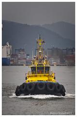 SST Potiguar Tug Boat (Rhannel Alaba) Tags: brazil nikon santos d90 pido alaba rhannel