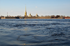 Fortress (azh565) Tags: city river stpetersburg russia d2x lovely fortress neva 2011 peterpavel