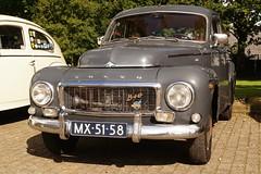 1963 Volvo PV 544 C (NielsdeWit) Tags: volvo beurs pv544 klassieker autotron rosmalen nielsdewit sidecode1 mx5158