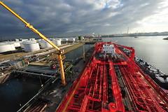 Tanker @ Terminal (Gunnar Eide) Tags: ocean sea ship transport maritime shipping tanker logistics tankers odfjell